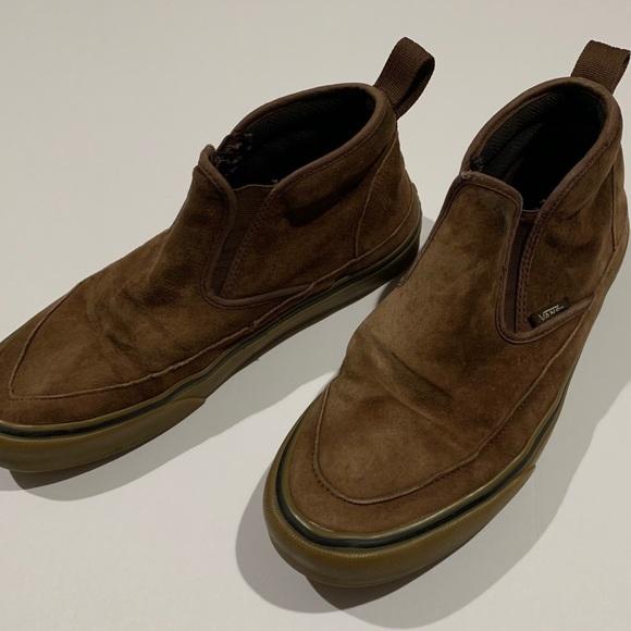 slip on boots vans